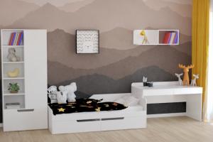 Модульная детская Мозаика-2 - Мебельная фабрика «Династия»