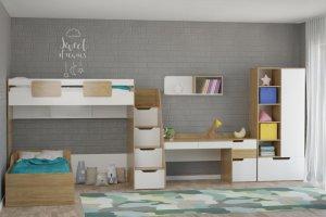 Модульная детская Мозаика - Мебельная фабрика «Династия»