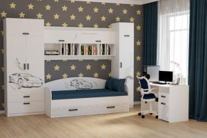 Модульная детская Престиж - Мебельная фабрика «Династия»