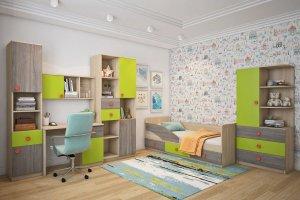 Модульная детская Пуговка - Мебельная фабрика «Династия»