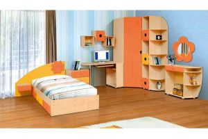 Модульная детская Солнышко - Мебельная фабрика «Аджио»