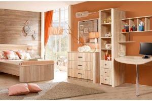 Модульная детская Венеция КМК 0414 - Мебельная фабрика «Калинковичский мебельный комбинат»