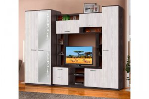 Модульная гостиная Александра 10 - Мебельная фабрика «Фант Мебель»