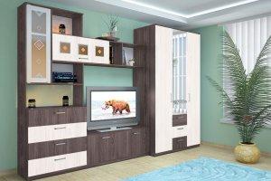 Модульная гостиная Александра 4 - Мебельная фабрика «Фант Мебель»