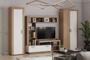 Модульная гостиная Ангара - Мебельная фабрика «МиФ»