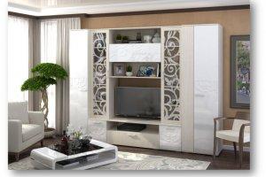 Модульная гостиная Асти - Мебельная фабрика «Андрей»