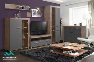 Модульная гостиная Бэлла-5 - Мебельная фабрика «МАРИБЕЛЬ»