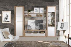 Модульная гостиная Бостон 2 - Мебельная фабрика «Заречье»