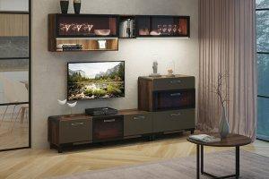 Модульная гостиная Браун - Мебельная фабрика «МСТ. Мебель»