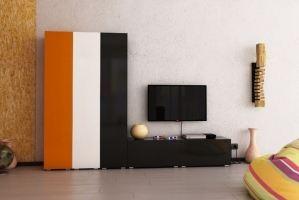 Модульная гостиная Домино - Мебельная фабрика «Форс»