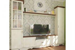 Модульная гостиная Латте 2 - Мебельная фабрика «Атлант»