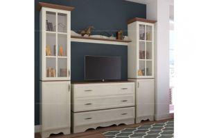 Модульная гостиная Латте 3 - Мебельная фабрика «Атлант»
