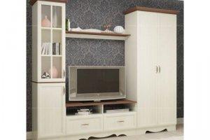Модульная гостиная Латте 4 - Мебельная фабрика «Атлант»