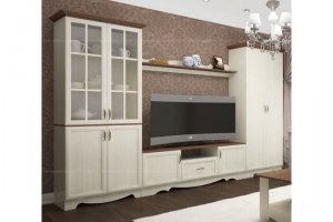 Модульная гостиная Латте 7 - Мебельная фабрика «Атлант»