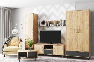 Модульная гостиная Лофт 3 - Мебельная фабрика «Ваша мебель»