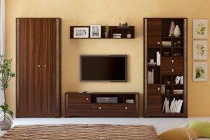 Модульная гостиная Неаполь - Мебельная фабрика «Кураж» г. Рязань