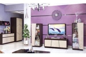 Модульная гостиная Нирвана  КМК 0555 - Мебельная фабрика «Калинковичский мебельный комбинат»