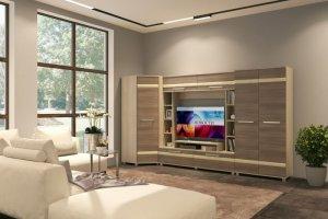 Модульная гостиная Оливия - Мебельная фабрика «СМ-Мебель»