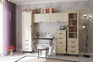 модульная гостиная Прованс - Мебельная фабрика «Анкор»
