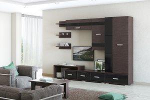 Модульная гостиная Сенатор 2 - Мебельная фабрика «МСТ. Мебель» г. Ижевск