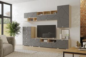 Модульная гостиная Скайлайн - Мебельная фабрика «Можгинский лесокомбинат»
