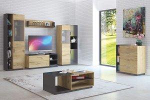 Модульная гостиная Сплит 1 - Мебельная фабрика «Центр мебели Интерлиния»