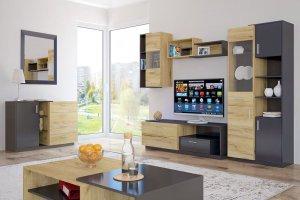 Модульная гостиная Сплит 2 - Мебельная фабрика «Центр мебели Интерлиния»