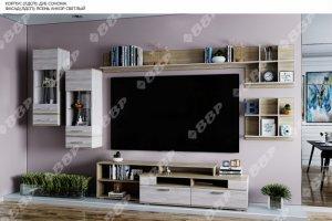 Модульная гостиная Тирено - Мебельная фабрика «ВВР»