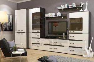 Модульная гостиная Виго МДФ - Мебельная фабрика «КорпусМебель»