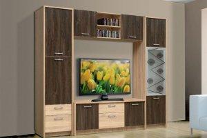 Модульная гостиная Викинг - Мебельная фабрика «Виктория»