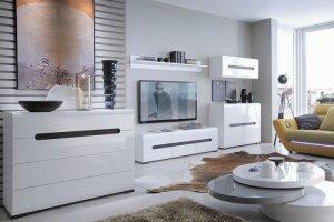 Модульная гостиная Ацтека - Импортёр мебели «БРВ Black Red White»