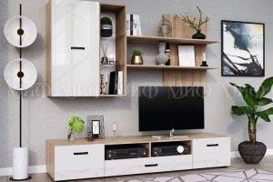 Модульная гостиная Нэнси ЛДСП - Мебельная фабрика «МиФ»