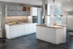 Модульная кухня МДФ Бронкс - Мебельная фабрика «ЛЕКО»
