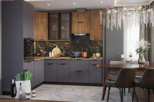 Модульная кухня Норд - Мебельная фабрика «Интерьер-центр»