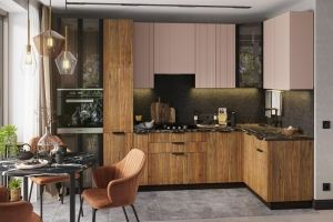 Модульная кухня Норд Stoun - Мебельная фабрика «Интерьер-центр»