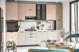 Модульная кухня Норд Wind - Мебельная фабрика «Интерьер-центр»