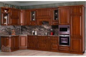 Модульная кухня Прага Орех - Мебельная фабрика «Кубань-Мебель»