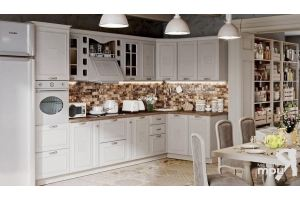 Модульная кухня Сабрина Бежевый - Мебельная фабрика «ТриЯ»
