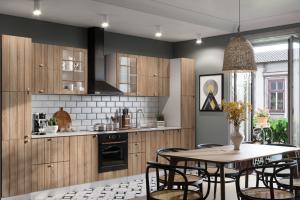 Модульная кухня Техно 1 Сонома - Мебельная фабрика «МиФ»