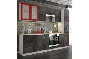Модульная Кухня Техно бетон - Мебельная фабрика «МиФ»