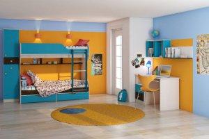 модульная мебель для детской Бриз 2 - Мебельная фабрика «Шадринская»