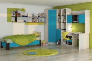 модульная мебель для детской Бриз 3 - Мебельная фабрика «Шадринская»