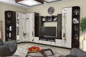 Модульная мебель для гостиной Марта-15 - Салон мебели «РусьМебель»