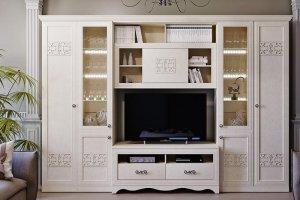 Модульная мебель для гостиной Саванна-2 - Мебельная фабрика «Евромебель»