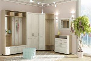 Модульная прихожая Герда с декоративной фрезеровкой - Мебельная фабрика «Элика мебель»