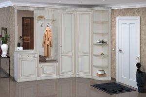 Модульная Прихожая Деметра Белая - Мебельная фабрика «Кубань-мебель»