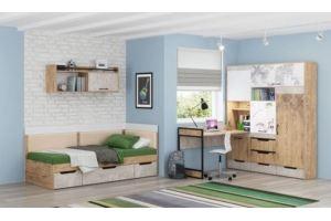 Модульная серия для детской Дублин Стоун - Мебельная фабрика «МСТ. Мебель»