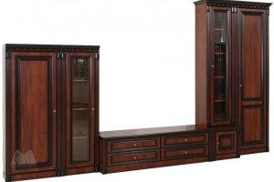 Гостиная модульная система Деметра 1 - Мебельная фабрика «Кубань-Мебель»