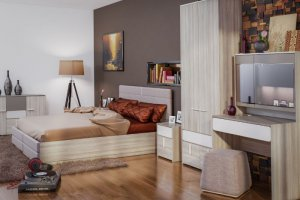 Модульная спальня Элен - Мебельная фабрика «Ник (Нижегородмебель)»