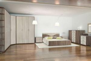 Модульная спальня Эстель - Мебельная фабрика «Глория»